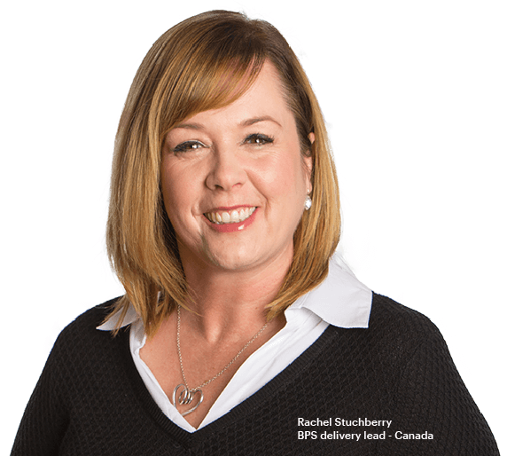 Rachel Stuchberry - BPS delivery lead - Canada