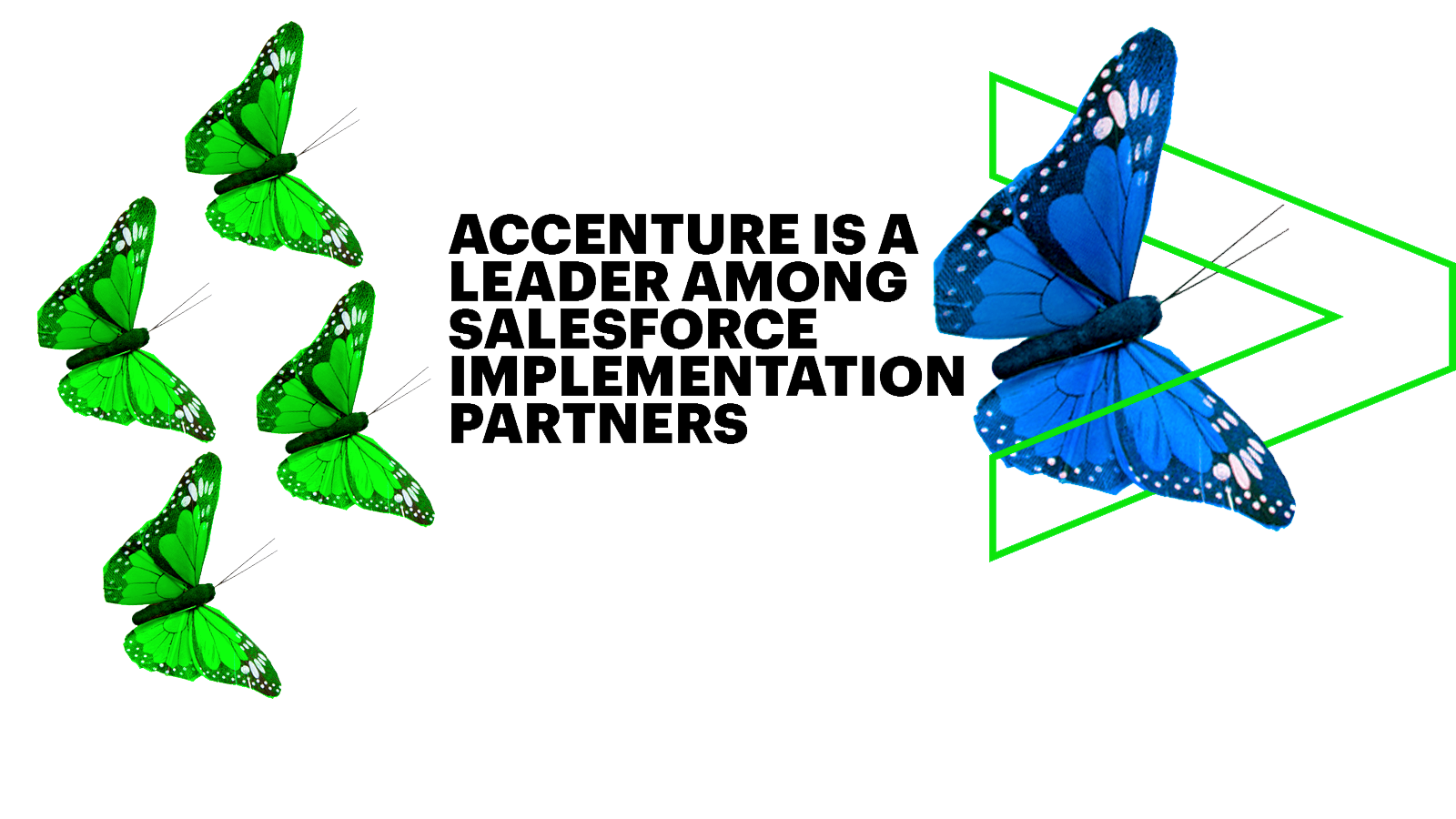 Accenture is a leader among salesforce implementation partners