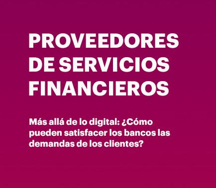 Proveedores de servicios financieros