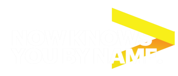 Now knows you by name.
