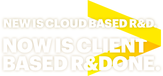 New is Cloud Based R&D