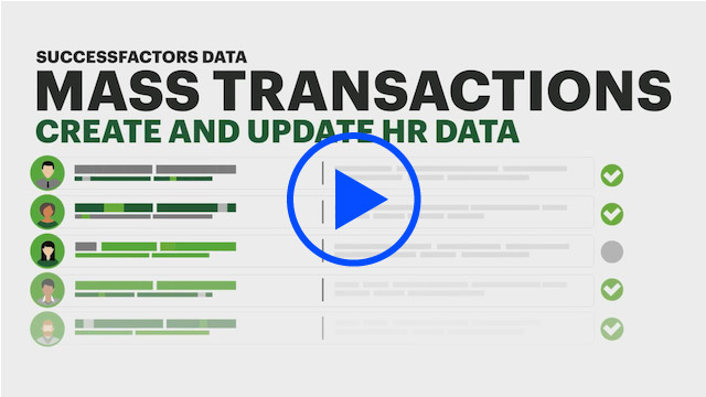 Click to play video: Accenture Easily Perform Mass Changes and Manage Recurring HR Processes