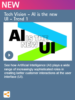 Tech Vision - AI is the new UI - Trend 1
