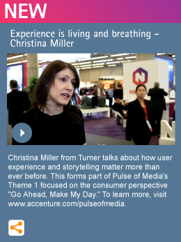 Experience is living and breathing - Christina Miller