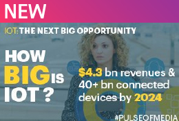 Is #IoT the next big opportunity? $4.3 billion revenues & 40+ billion connected devices by 2024.