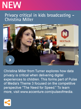 Privacy critical in kids broadcasting - Christina Miller