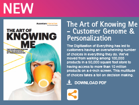 The Art of Knowing Me - Customer Genome & Personalization