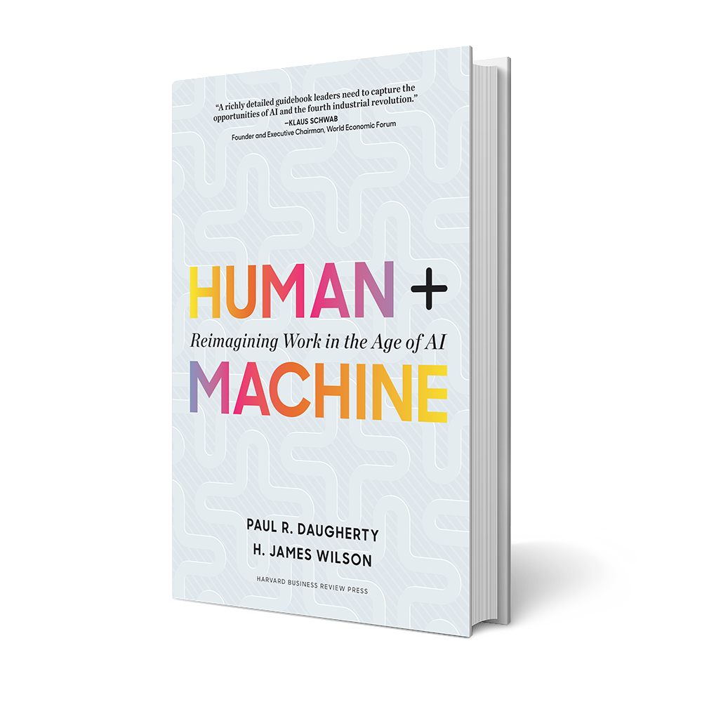 Human + Machine book