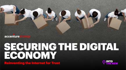 Securing the digital economy PDF cover for infographic