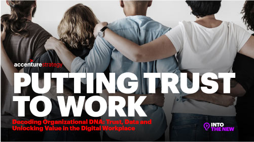 Putting Trust to Work Infographic Cover