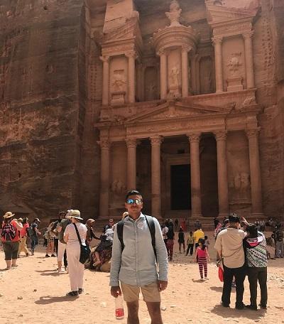 In Petra, Jordan