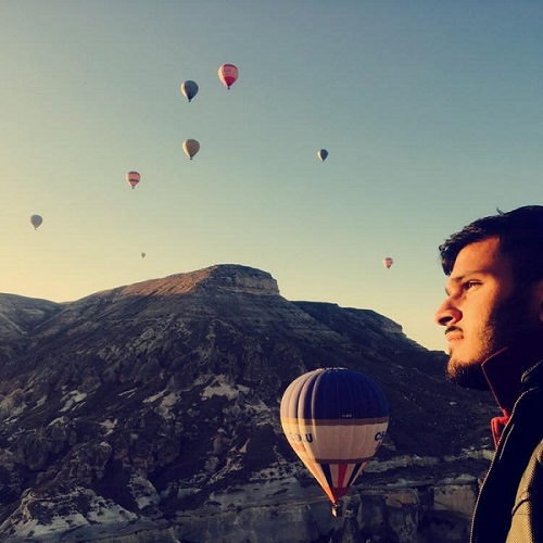 Pondering Hot Air Balloons in Turkey