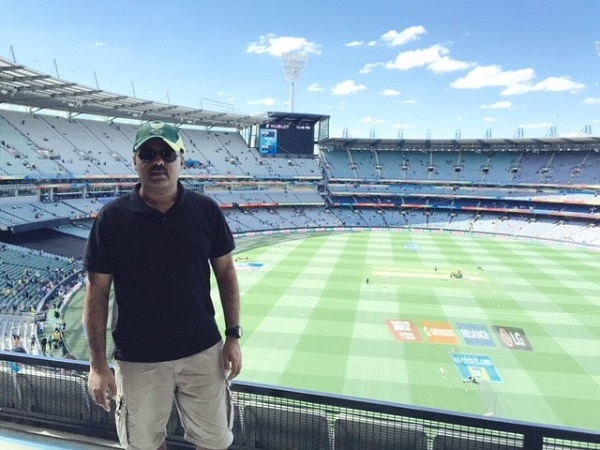 Cricket game at Melbourne Cricket Ground
