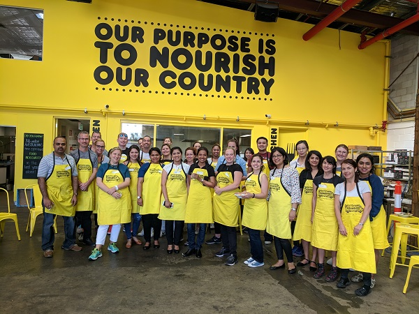 HR Sydney team participated in OZHarvest