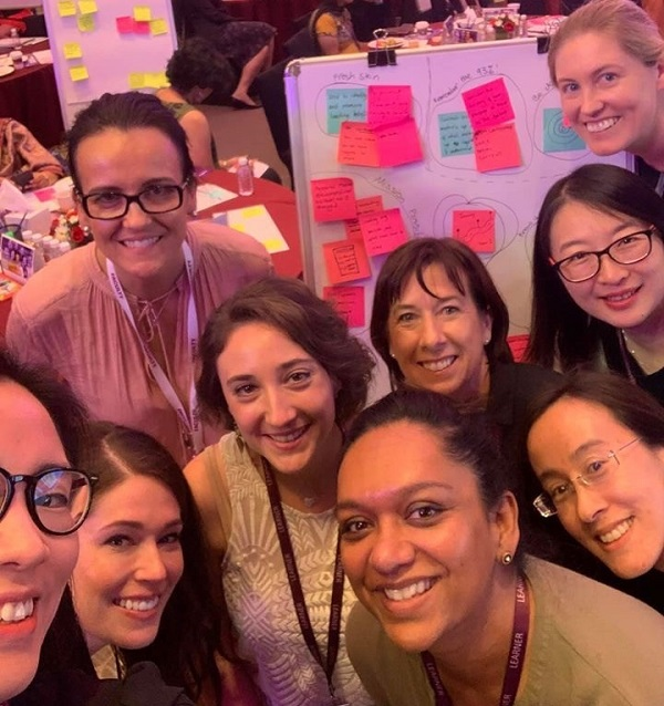 Exceptional leaders I met while on an international women's leadership course earlier this year