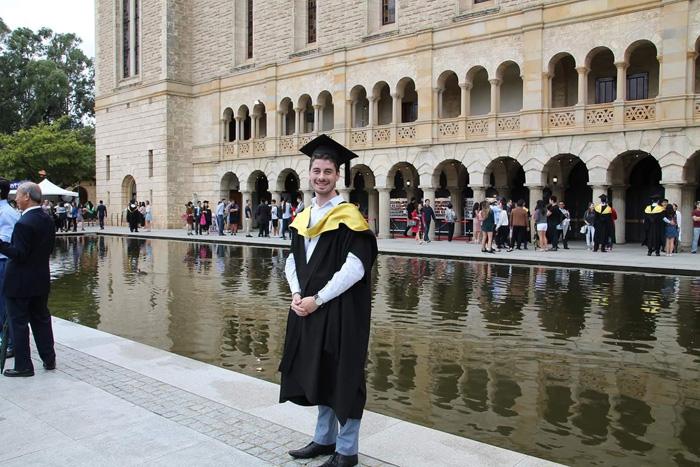 Jordan's graduation