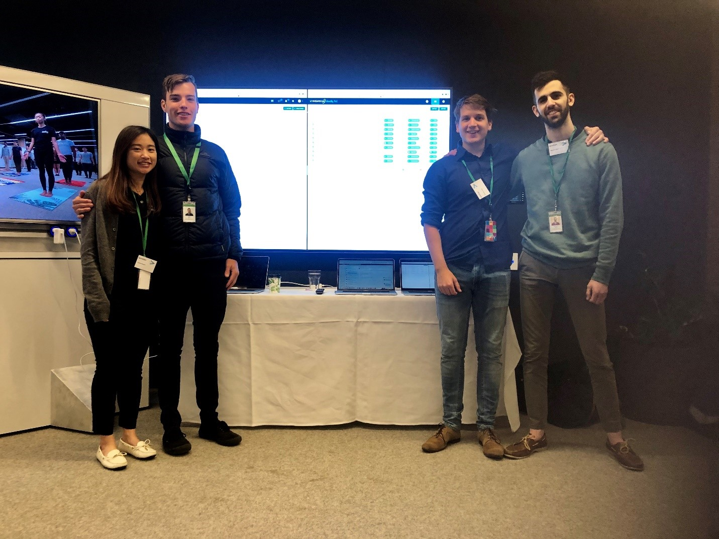 myWizard AIOps at Accenture Open Day where we spoke to university students about what we do!