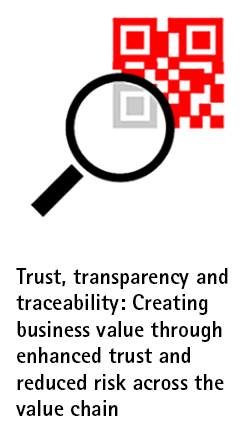 Trust, transparency and traceability: Creating business value through enhanced trust and reduced risk across the value chain
