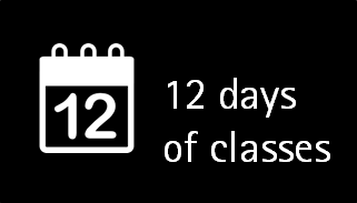 12 days of classes