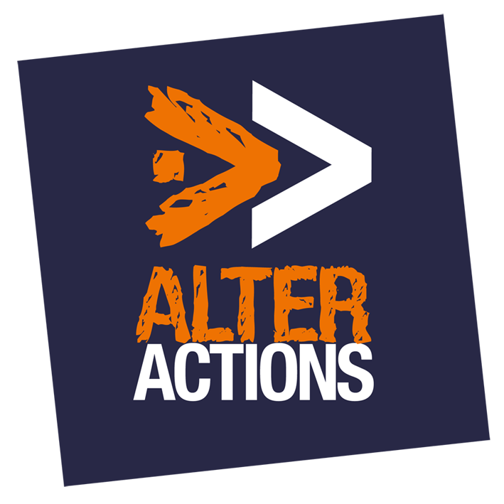 Alter'Actions logo.