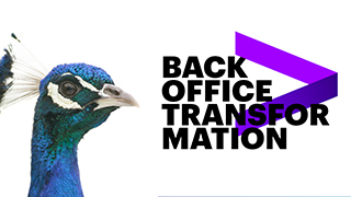 Back-office transformation