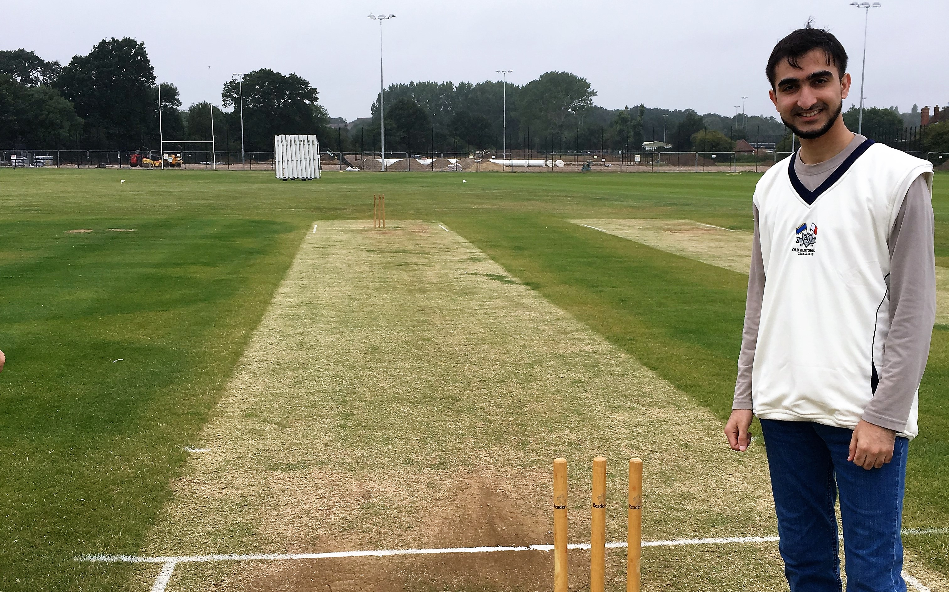 Muhammad Abrar, a part-time cricketer