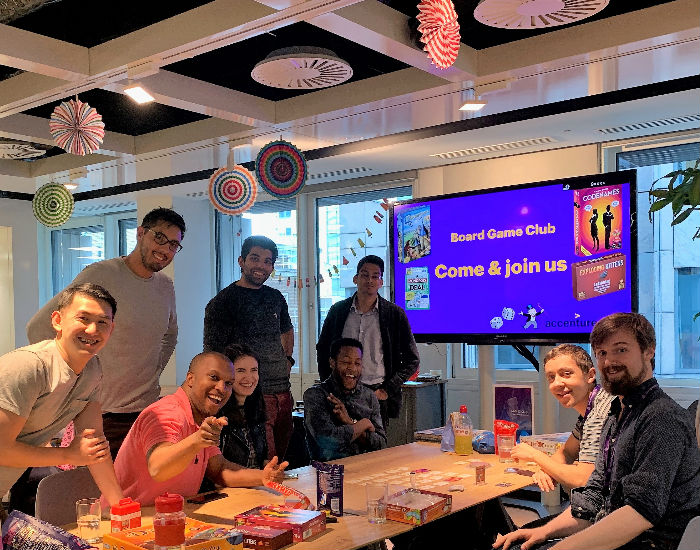 Accenture Board Game Club