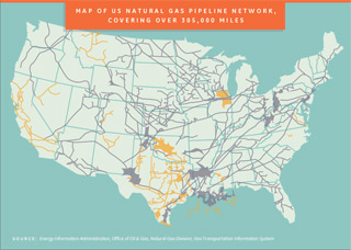 Map of US Natural Gas Pipeline Network. This opens a new window.