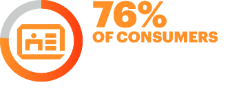 73% of consumers find not being able to trust a company with personal information to be a top source of frustration