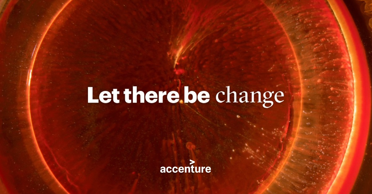 Accenture | Let there be change