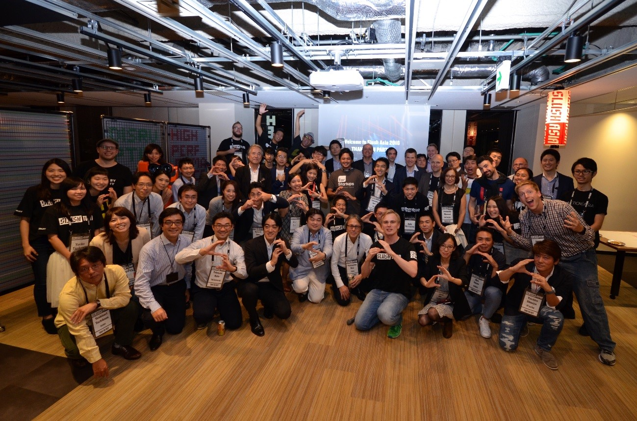Slush Asia Group Photo