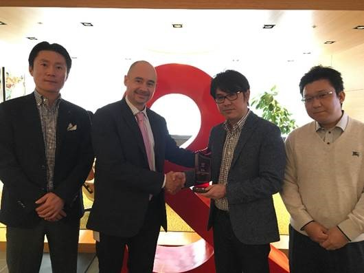Adobe Marketing Cloud PARTNER OF THE YEAR AWARD JAPAN