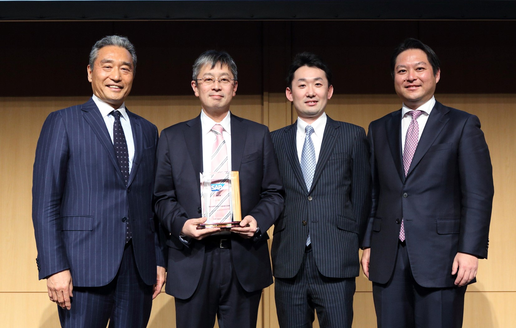 「SAP AWARD OF EXCELLENCE 2017」の受賞アワード