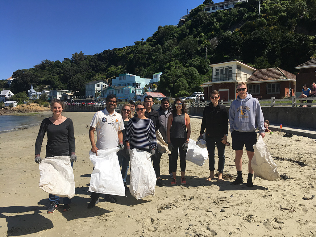A busy day in Wellington with Sustainable Coastlines