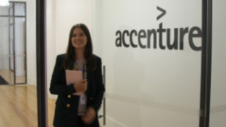 Day-in-the-life of an Accenture grad: Ella
