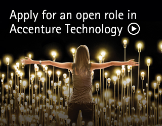 Apply for an open role in Accenture Technology