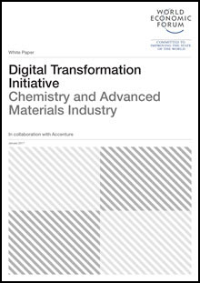 Digital Transformation Initiative Chemistry and Advanced Materials Industry