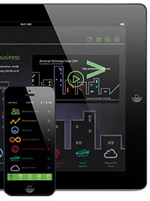 Accenture Technology Vision 2013 app for Android and iOS