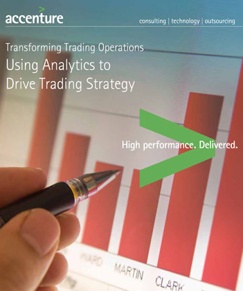 Using Analytics to Drive Trading Strategy