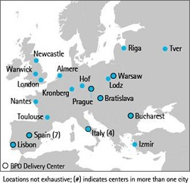 Accenture Delivery Centers Europe