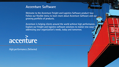 Freight and Logistics Software - Accenture Software