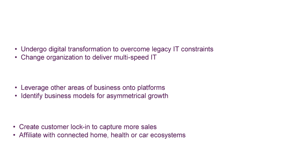 Building on their strengths, retailers need to decide how to position themselves in these platform-driven ecosystems and use technology to carve out their role now.