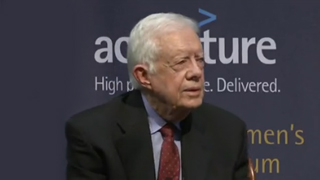 Jimmy Carter explains why we need more women in the boardroom