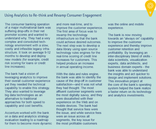 Using Analytics to Re-think and Revamp Consumer Engagement
