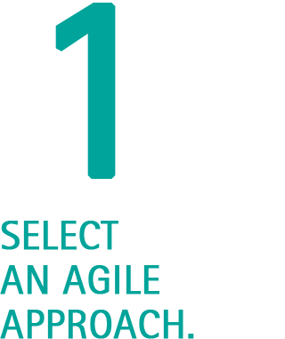 Select an Agile Approach