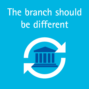 The branch should be different