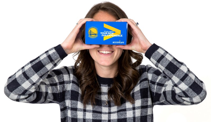 Accenture and the Golden State VR Viewer