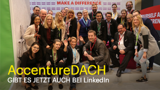 Leading the discussion – Accenture DACH auf LinkedIn