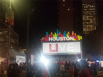 Proud to be a founding sponsor of the Super Bowl Host Committee and see the vision for Houston LIVE - truly an opportunity to celebrate, inspire and energize- come to life!