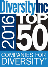Diversity Inc 2016 Top 50 Companies for Diversity